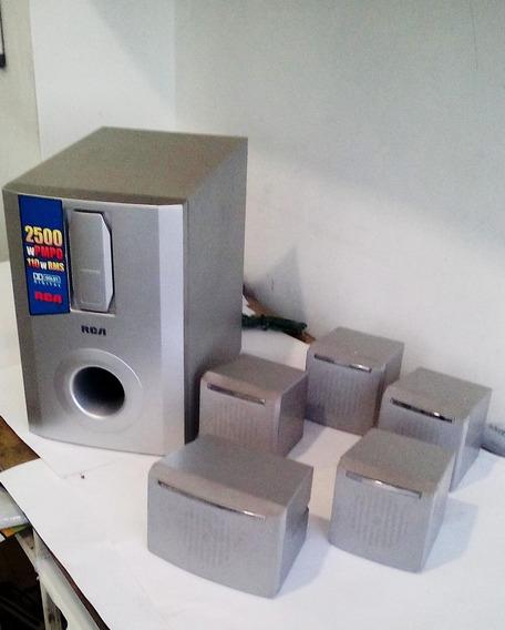 Cornetas Home Theahter 5.1 Rca - Sonido Envolvente