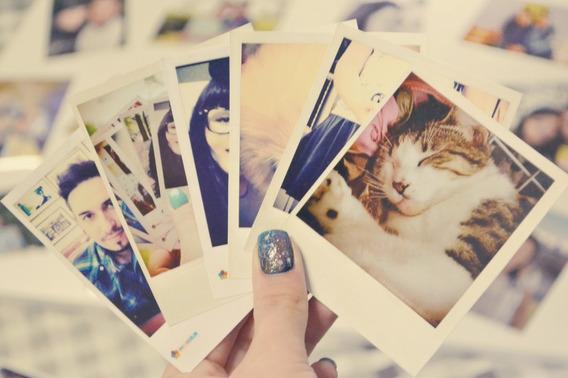 Revelação De 15 Fotos Formato Polaroide