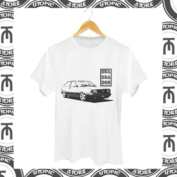 Camiseta Quadrados - Gol Gts - Clube Do Gol - Vw - Quadrado