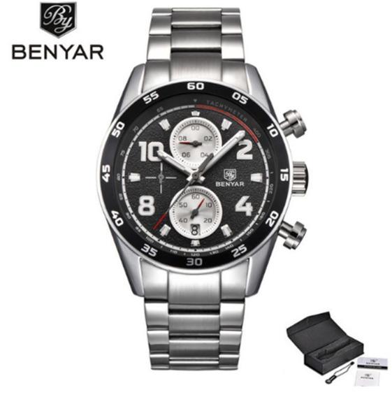 Relógio Benyar Chronograph By5126m
