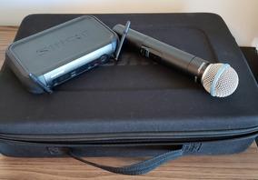 Microfone Sem Fio Shure Pgxd24 Beta58 Sistema Digital