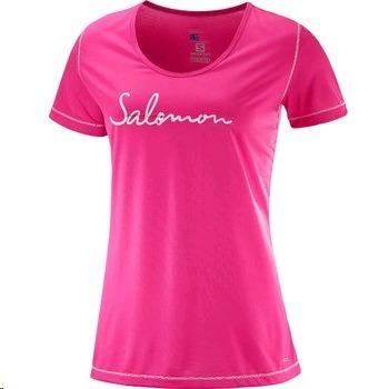 Remera Salomon D. Xa Lite Ss Tee W Pink Yarrow