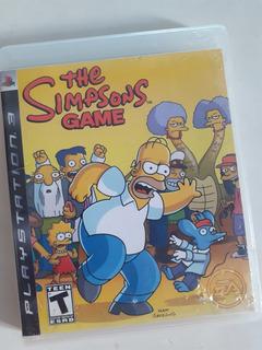 The Simpsons Game Playstation 3 Fisico Tomo Juegos. Mp Y Me