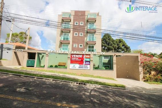 Apartamento Com 2 Dormitórios À Venda, 55 M² Por R$ 345.000,00 - Santa Felicidade - Curitiba/pr - Ap0168