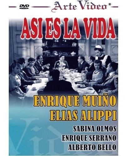 Así Es La Vida - Enrique Muiño - Elías Alippi - Dvd Original