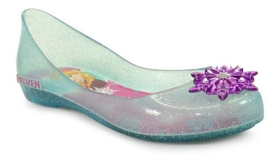 Sapatilha Disney Frozen Shine Azul Glitter - 21370