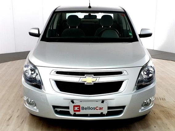 Chevrolet Cobalt Ltz 1.8 8v Econo.flex 4p Mec. - Prata -...