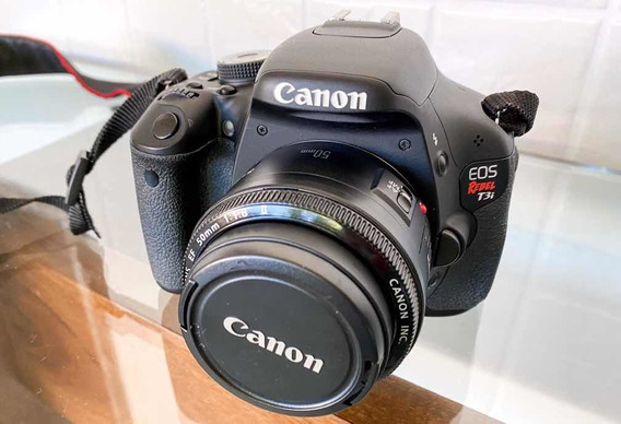 Canon T3i + 50mm 1.8 Com 8.731 Clicks