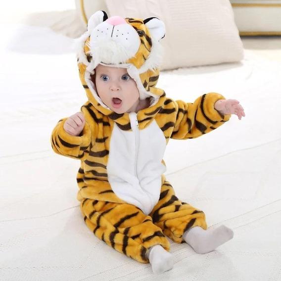 Pijama Tigre Animal Baby Mameluco Tigre Kigurumi Baby Tiger
