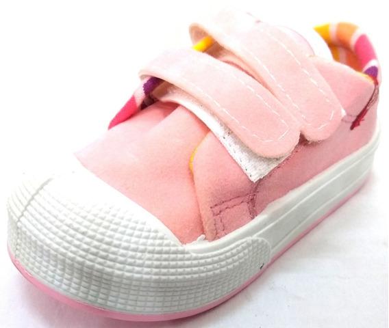 Zapatillas De Gamuza De Bebe Con Abrojo Proforce Art 97