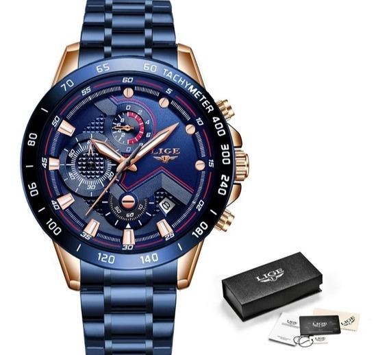 Relógio Lige De Luxo