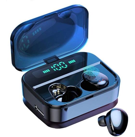Audífonos Tws X7 Con Base De Carga 3600mah Y Pantalla Led