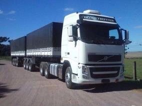 Volvo Fh 540 6x4 2013 + Rodotrem Randon 9 Eixos - 2013