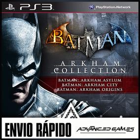 Batman Arkham Collection - 3 Jogos - Jogos Ps3 Midia Digital