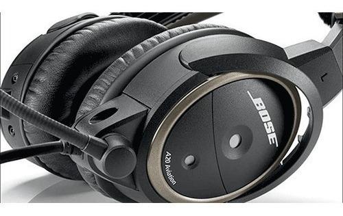 Fone Headset Bose A20 Dual Plug / Bluetooth Pronta Entrega