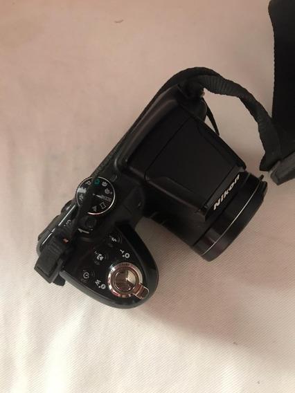 Máquina Semi Profissional Nikon Colpix L315