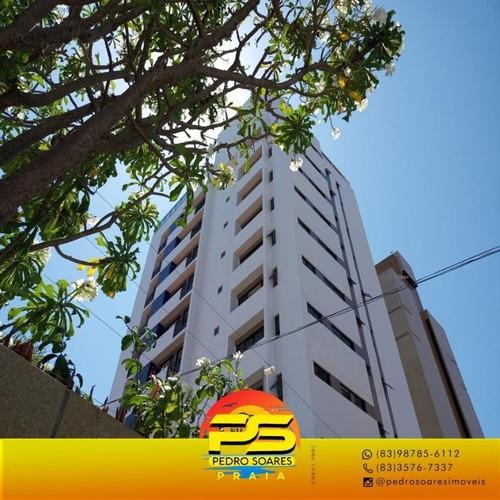(oportunidade) Apartamento Em Manaira Proximo Ao Mar, Entre O Mangai E A Casa Chang. - Ap4065
