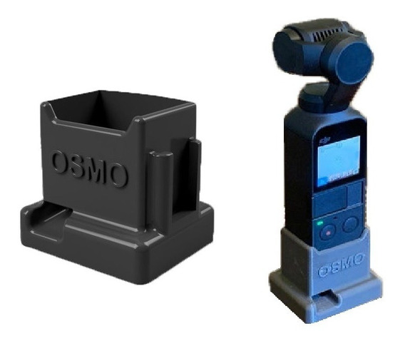 Base Suporte - Dji Osmo Pocket - Rosca Para Tripé 1/4