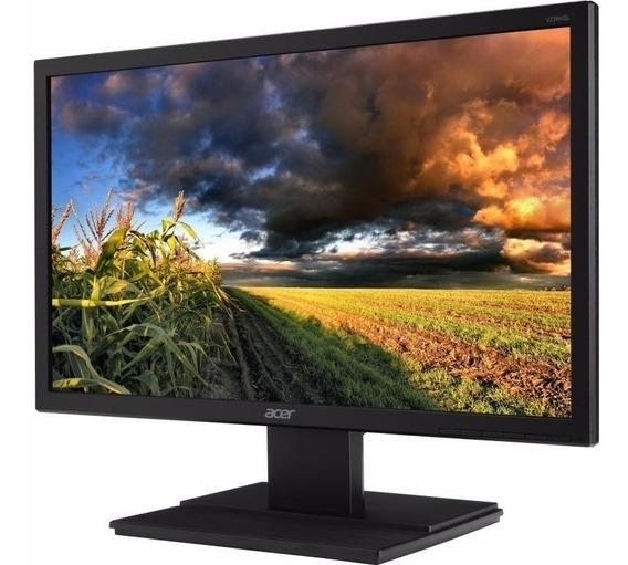 Monitor Acer19,5 Led Vga Vesa Inclina 25° Garantia E N Fisc