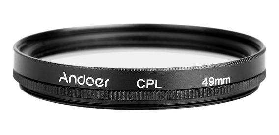 Andoer 49 Milímetros Slim Digital Cpl Circular Polarizador