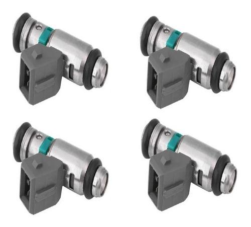 Imagen 1 de 7 de Inyector Volkswagen Gol Ab9 1.6 1.8 Polo 1.6 1.8 Mp Kit X 4