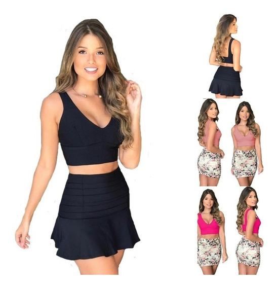 Top Cropped Regata Blusa Feminina Tecido P A Gg Envio 2hr B