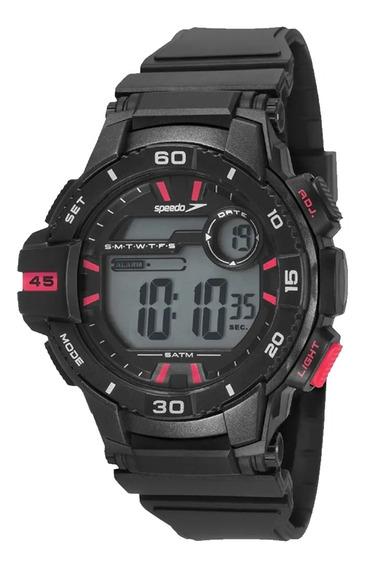 Relógio Masculino Speedo Digital 11008g0evnp2 - Preto