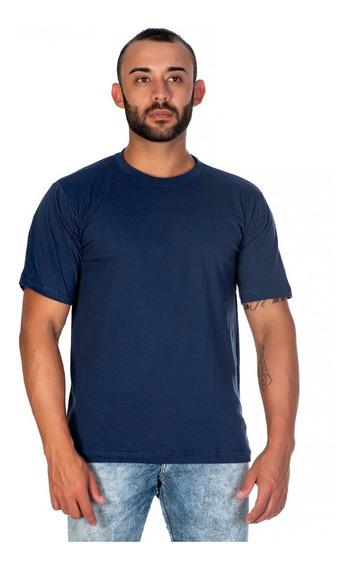 Camiseta Sem Estampa Algodão Confortável Super Promoção
