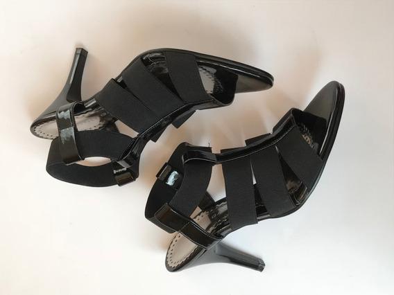 Zapatillas Negras Tiras Sandalias Negras Dorothy Gaynor 23