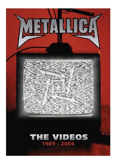 Metallica The Videos 1989-2004 Dvd Nuevo|sellado