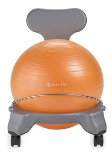 Silla Balance Yoga Niños Gaiam Kids Bola 35 Cm