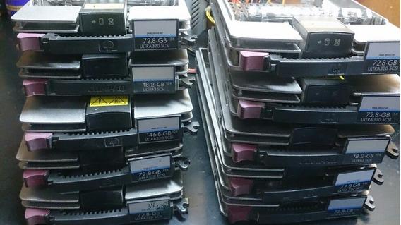 Gaveta Hd Servidor Storage Hp/compaq Scsi Rec Assy-349469-5