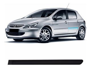 Friso Lateral Porta Traseira Esquerda Peugeot 307 2002/2012