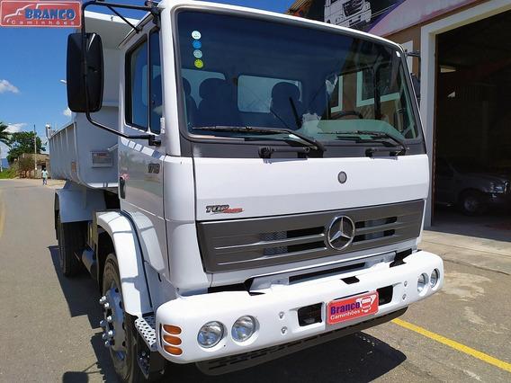 Mb 1718 Reduzido, Ano 2011, Na Caçamba 6 M3, Muito Novo!!!