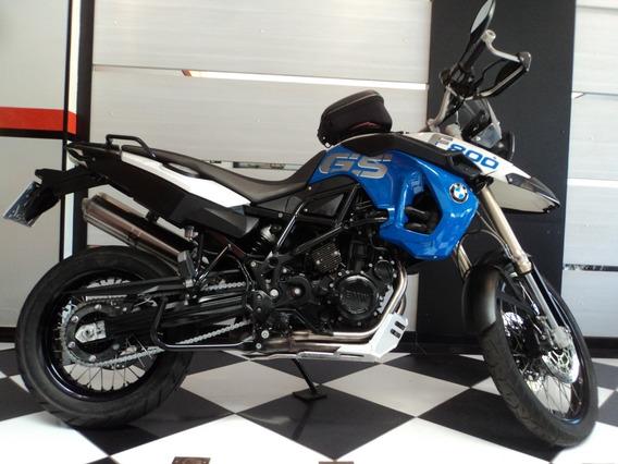Bmw F 800 Gs Azul 2012