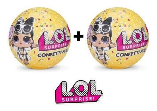 Kit 2 Bonecas Lol Confetti Pop Series 3 Candide 8906