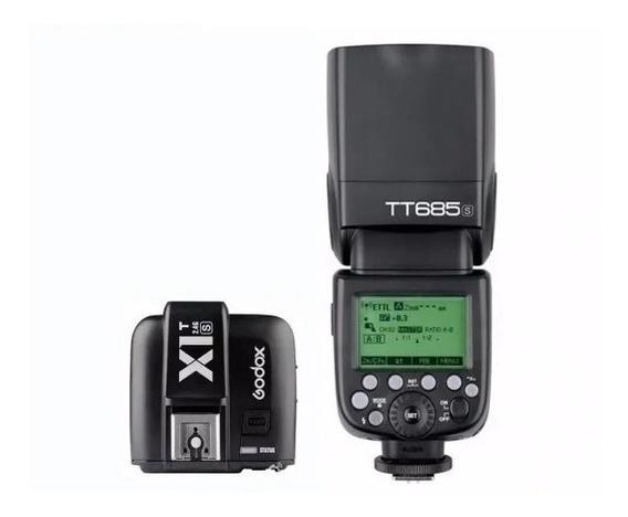 Kit Flash Godox Tt685s + Radio Flash Godox X1t-s Sony