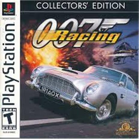 007 Racing Collectors Edition Ps1 Mídia Física