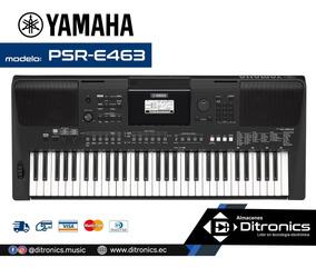 Teclado Sintetizador Yamaha Psr-e463 (inc Adaptador Original
