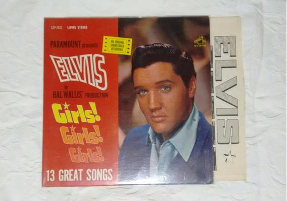 Elvis Presley Girls! Girls! Girls! Lsp 2621 Importado Usa