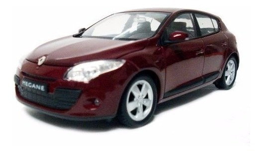 Renault Megane 2009 1/24 By Welly