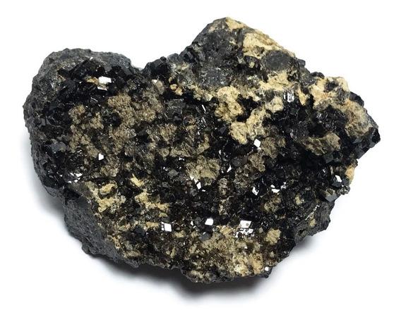 Mineral De Colección Granate Negro De Mexico