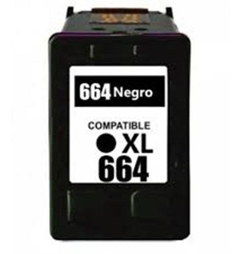Cartucho 664xl Negro Para 2600 2675 2676 5075 5275 4535 2135