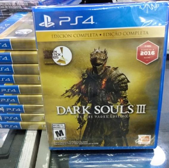 Dark Souls 3 Complete Edition Ps4 Mídia Física Novo Lacrado