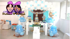 Mesa Candy Bar Shots Dulces Bombones Pasapalos Decoracion