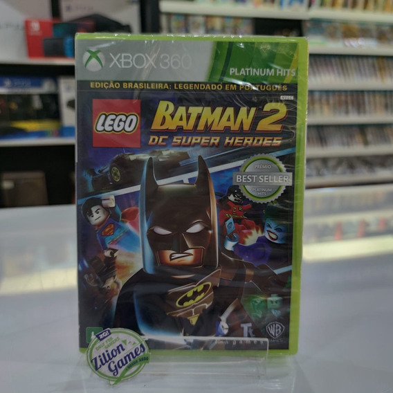 Lego Batman 2 Dc Super Heroes Xbox 360 - Novo Lacrado