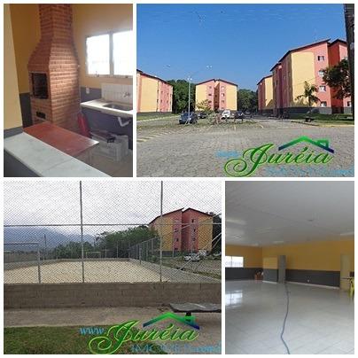 Apartamentos Cdhu, Com 2 Quartos E Garagem. Peruíbe/sp