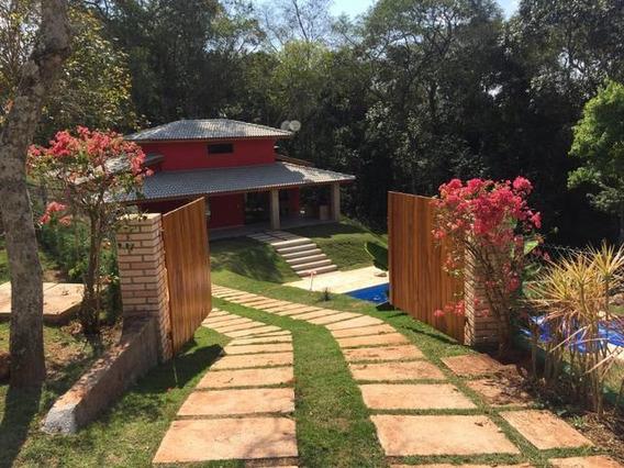 Chacara Em Ibiuna, Condominio, Porteira Fechada