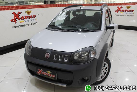Fiat Uno Evo Way 1.0 2014 Prata Financiamento Próprio 5508