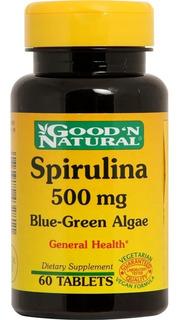 Natural Life Spirulina X 60 Tabletas